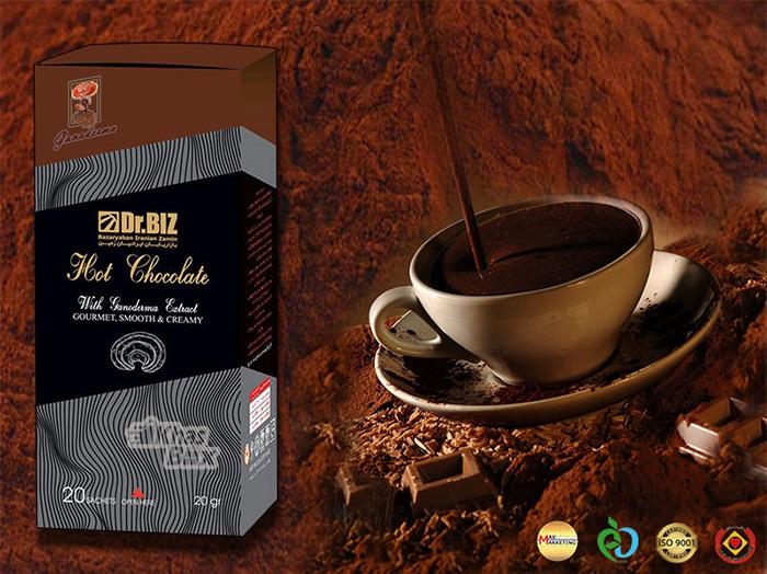 شکلات داغ گانودرما دکتر بیز