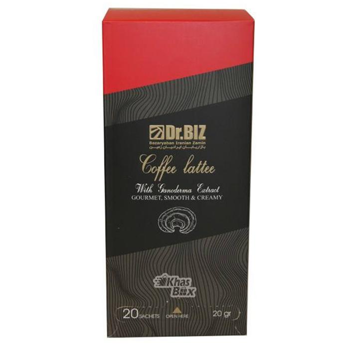 قهوه لاته گانودرما دکتر بیز | Dr. Biz Ganoderma Coffee Latte