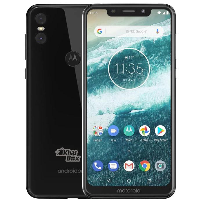 گوشی موبایل موتورولا مدل موتو وان ظرفیت 64 گیگابایت | Motorola Moto One Dual SIM 64GB Mobile Phone
