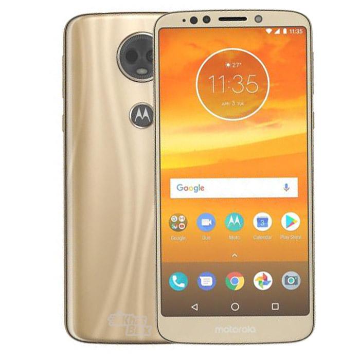 گوشی موبایل موتورولا مدل Moto E5 Plus 32GB Dual RAM3 طلایی  