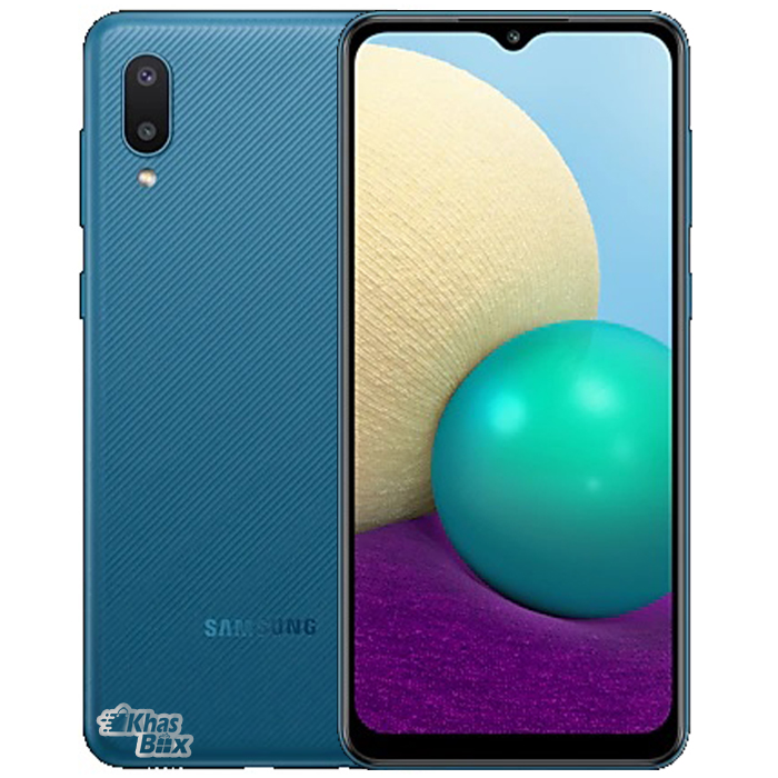 تخفیف خرید گوشی موبایل سامسونگ Galaxy A02 64GB آبی