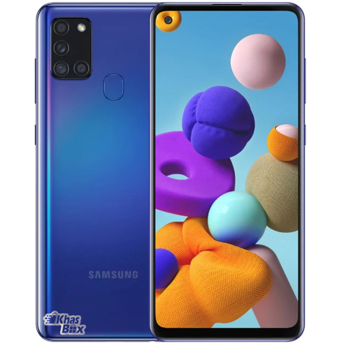 تخفیف خرید گوشی موبایل سامسونگ Galaxy A21s 64GB Ram4 آبی
